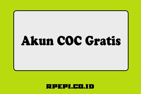 Akun COC Gratis
