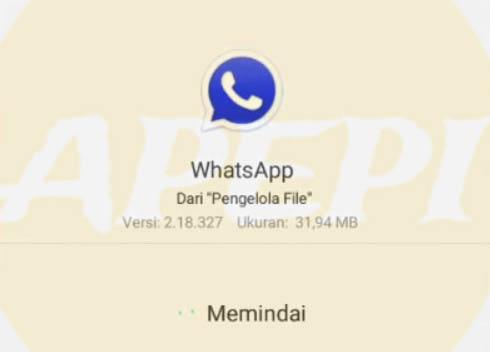 Cara Aman Instal WhatsApp Delta Apk
