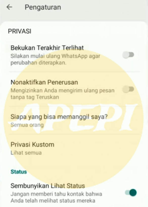Filter Panggilan Masuk