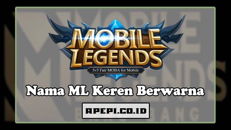 Nickname Mobile Legends Berwarna