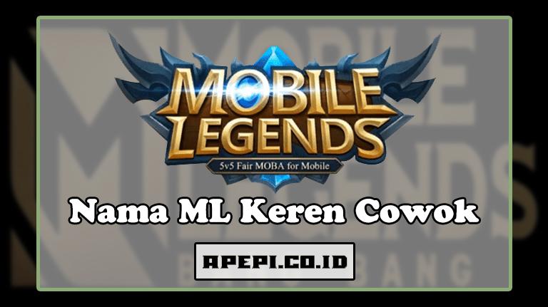 Nama ML Keren Cowok