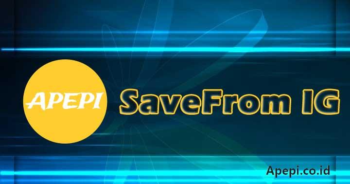 SaveFrom IG