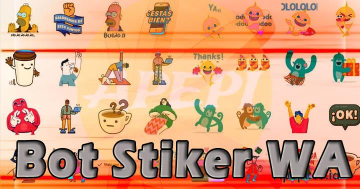 Tentang Bot Stiker WA